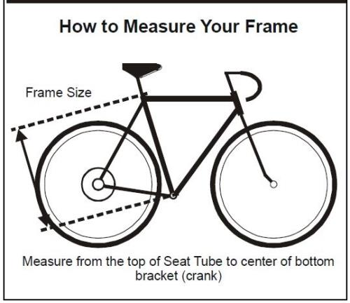 BicycleMeasureFrame