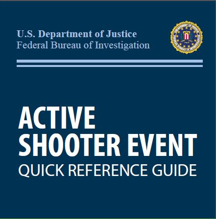 USDOJ Active Shooter Quick Reference (Thumbnail)