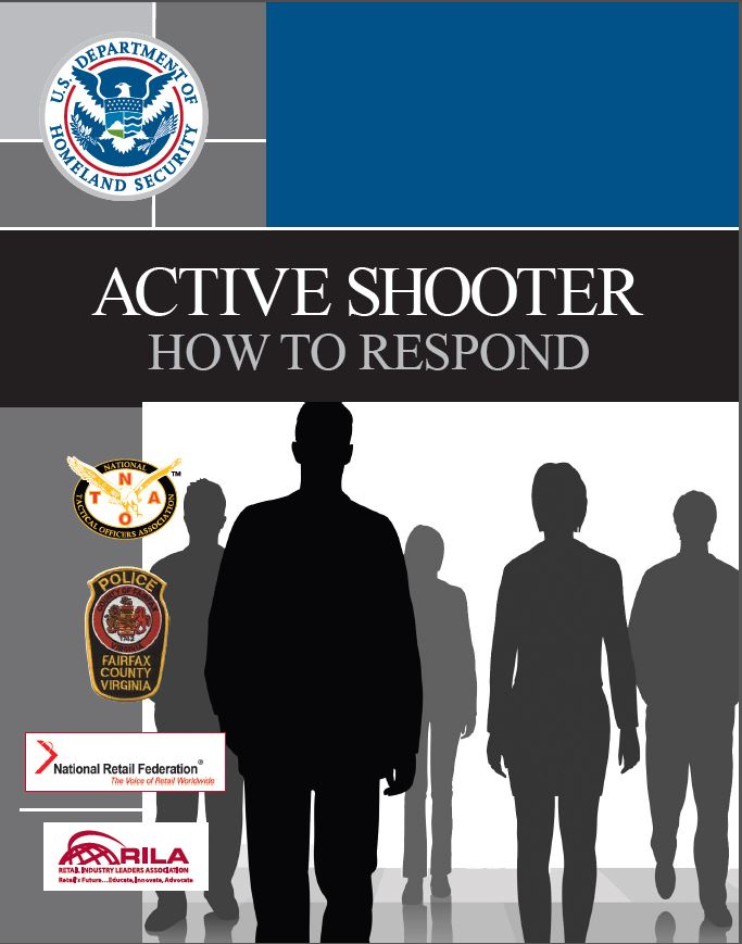 DHS Active Shooter Educational Booklet (Thumbnail)